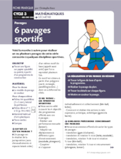 Six pavages sportifs