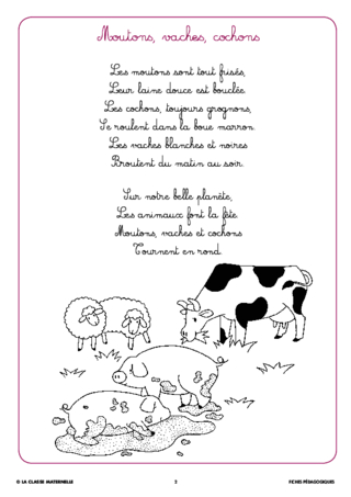 Syllasons GS Animaux de la ferme (2)