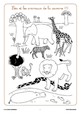 Syllasons GS Animaux de la savane (1)