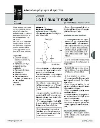 Ultimate (2) / Le tir aux frisbees