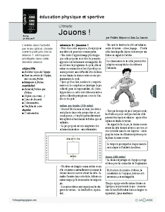 Ultimate (5) / Jouons!