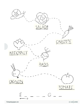 Un chemin gourmand (Cycle 2)